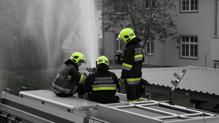 Feuerwehr Hennersdorf im Einsatz