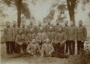 Die Mannschaft im Jahre 1900